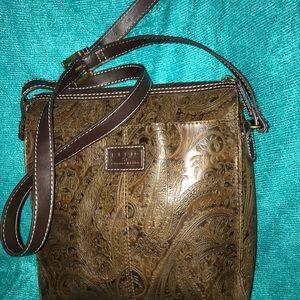 Relic Handbag Vintage/Brand New Condition! Tooled